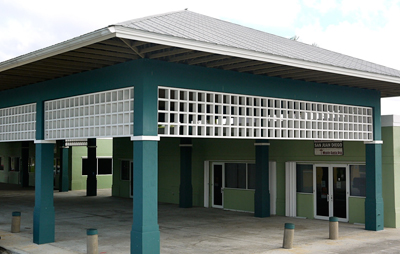 Everglades Village Migrant Camp This is the community building in south Dade county Florida where Leland and Deborah delivered tutorial services to students and support programs for parent