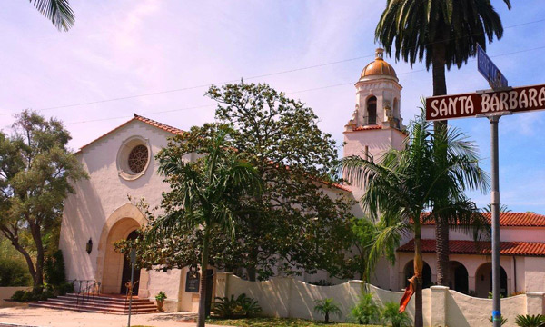 Unitarian Society of Santa Barbara - Here I served as the interim minister.